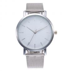 Vintage Mesh Horloge Zilver