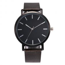 Vintage Mesh Horloge Zwart