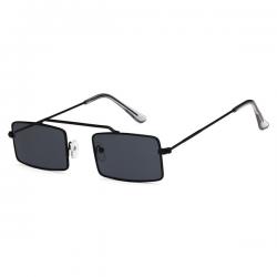Vintage Retro Sunglasses Square Black