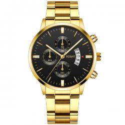 Vosht Gold Steel - Men Watch