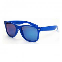 Wayfarer Blauw - Blauw Spiegel
