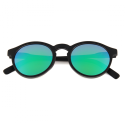 Wayfarer Round - Green Blue Mirror 2019