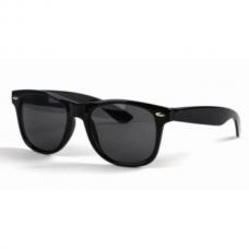 Wayfarer Zwart - Donkere Glazen