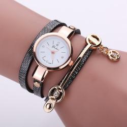 Yuhao Horloge Armband Zwart
