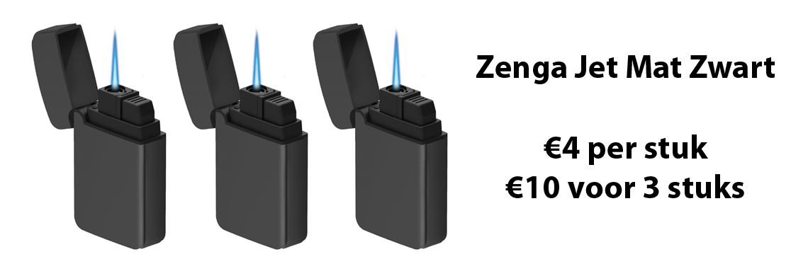 Zenga Jet Mat Zwart